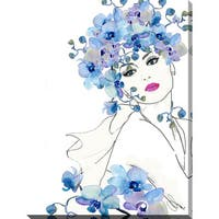 "BY Jodi ""In Bloom 1"" Giclee Print Canvas Wall Art"