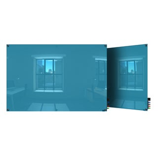 Ghent Harmony Blue Glass Magnetic Whiteboard