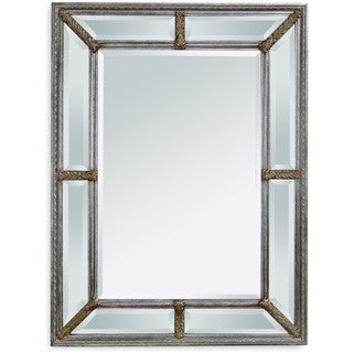 Bassett Roma Silver Glass Wall Mirror