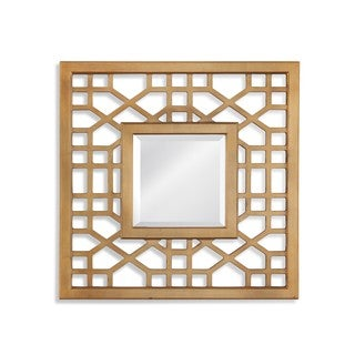 Bassett Mirror Company Dandridge Gold-tone Resin and Glass Wall Mirror