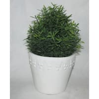 Jeco Polyester and Resin 7-inch Artificial Topiary