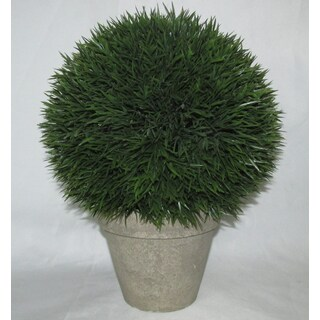 Jeco Polyester and Resin 12-inch Artificial Topiary