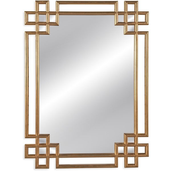 Frederick Gold-framed Wall Mirror