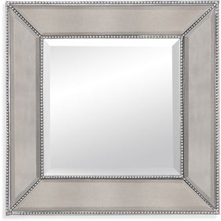 Basset Caprice Wall Mirror with Clear Resin Frame
