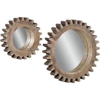 Bassett Mirror Sprockets Wall Mirrors (Set of 2)