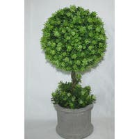 Jeco Polyester and Resin 16-inch Artificial Topiary