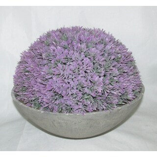 Jeco Artificial Topiary Half Ball Bowl