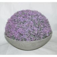 Jeco Artificial Topiary Half Ball Bowl