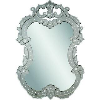 Bassett Mirror M3233 Venetian II Silver Wall Mirror