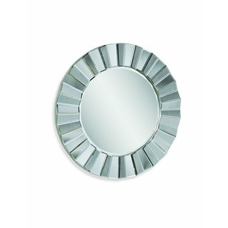 Parker Silver Beveled Glass Wall Mirror