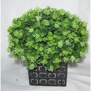 Jeco Artificial Half Ball Plant in Pot