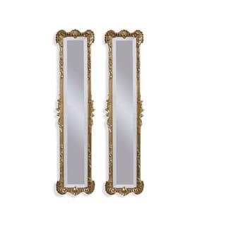 Helena Gold Resin 2-panel Mirrors