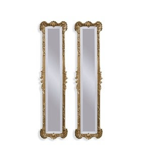Helena Gold Resin 2-panel Mirrors
