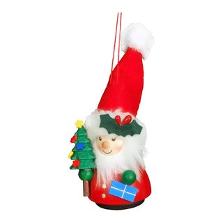Christian Ulbricht Santa with Christmas Tree Hanging Ornament
