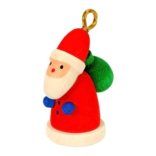 Christian Ulbricht Santa Multicolored Wooden Hanging Ornament