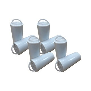 8pk Replacement Charcoal Filters, Fits Drinkwell Stainless Multi-Pet & 360 Pet Fountains
