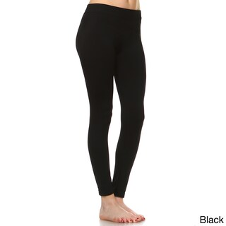 White Mark Women's Super-stretch Solid Leggings (More options available)