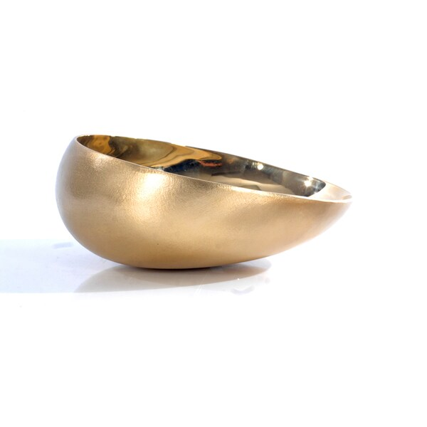 Brunei Luxury Collection Goldtone Brass Offering Bowl