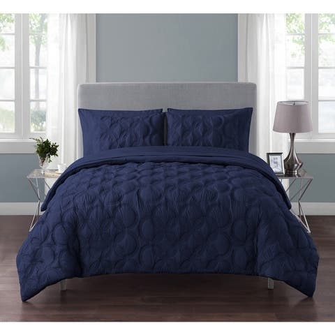 Carbon Loft Jobs Embossed Circle 7-piece Bed in a Bag Set