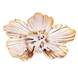 Golden Luxury Costa Brava Gold-tone Aluminum Decorative Flower