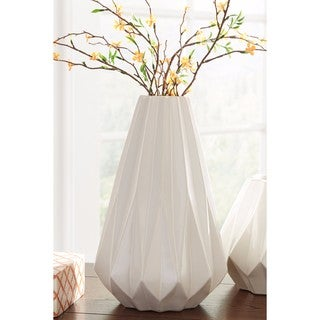 Signature Design by Ashley Diego 12-inch White Vase