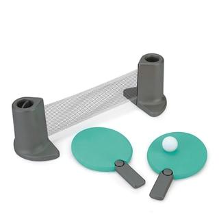 Umbra Pongo Blue Plastic Portable Table Tennis Set