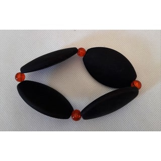 Rubber Coated Stretch Bracelet