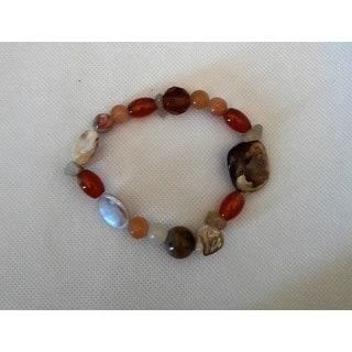 Multi Gem Stretch Bracelet