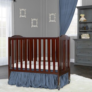 Dream On Me 2 in 1 Folding, Birch Portable Crib