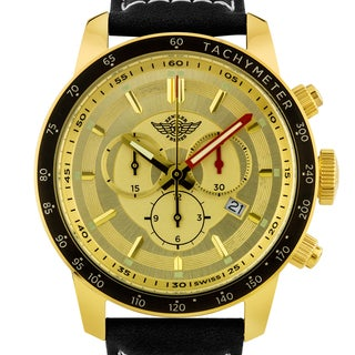 Zentler Freres Oracle Men's Swiss Made Chronograph Watch