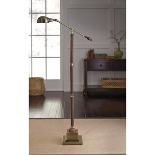 Signature Design by Ashley Jabrar Brown Finish Poly Floor Lamp