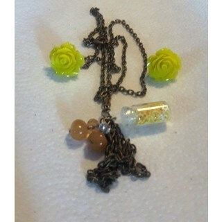 Women's Necklace Earring Set