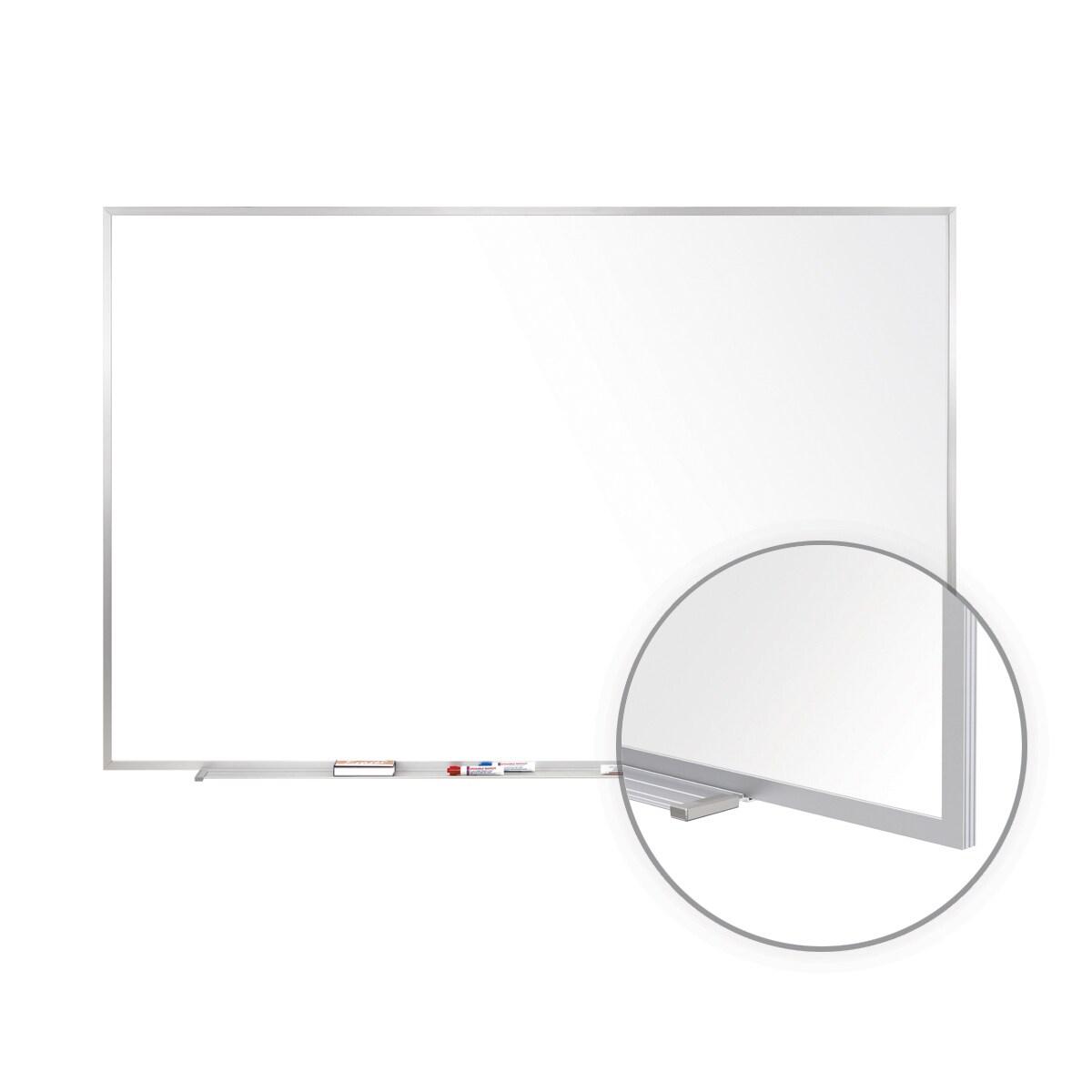Aluminum Frame Porcelain 48.5-inch x 120.5-inch Magnetic ...