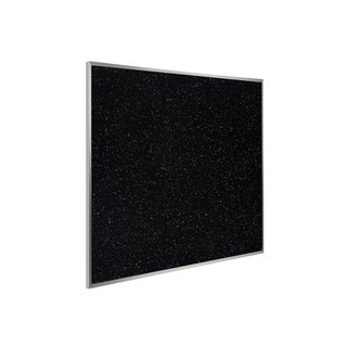 48.5x48.5 Aluminum Frame Recycled Rubber Bulletin Board