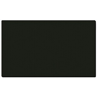 Black Fabric 36 x 46.5 Bulletin Board with Wrapped Edge