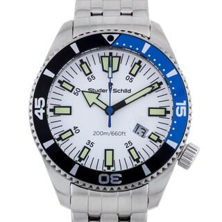 Studer Schild Biscayne Men's Swiss Made Diver Watch