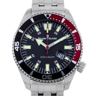 Studer Schild Biscayne Men's Swiss Made Diver Watch