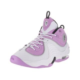 Nike Kids' Air Penny II (GS) Purple Leather Basketball Shoes