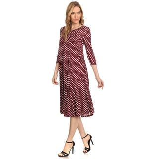 Women's Polka Dot Dress