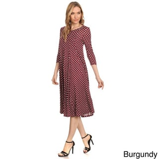 Women's Polka Dot Dress (More options available)