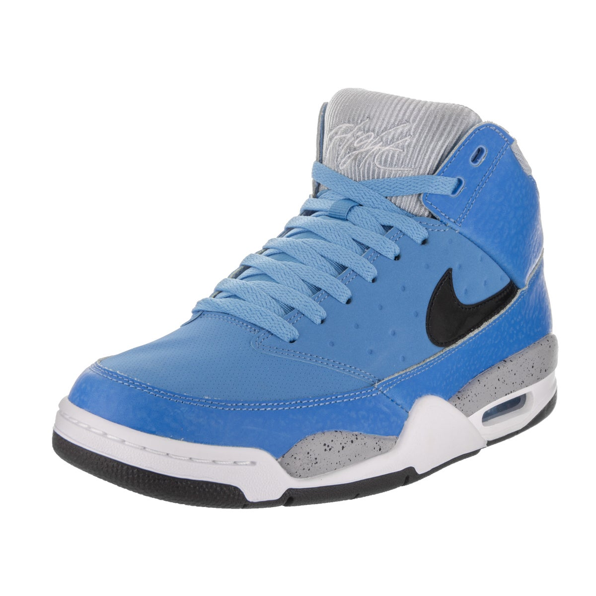 Nike Men's Air Flight Classic Blue Synthetic Leather Bask...