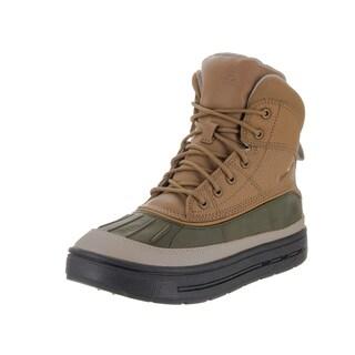 Nike Kids Boys' Woodside 2 High Brown Leather Boot