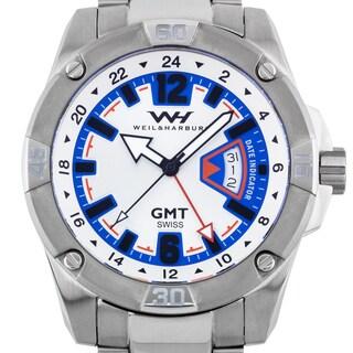 Weil & Harburg Leade Swiss GMT Men's Watch
