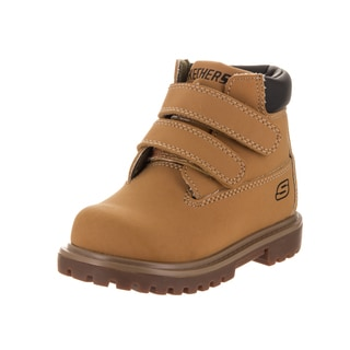 Skechers Toddlers' Mecca - Brazenly Wheat Nubuck Boots