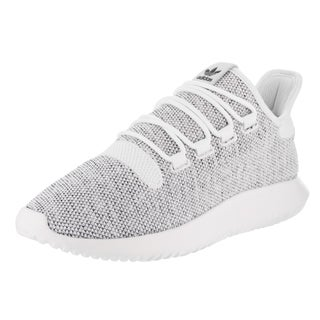 Adidas Men's Tubular Shadow White Textile Knit Runnning Shoes