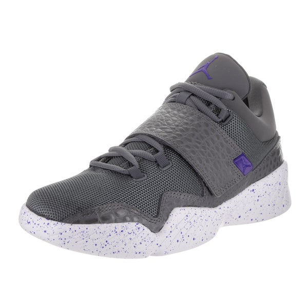 867343c87908 Shop Nike Jordan Men s Jordan J23 Dark Grey Fabric Baskeball Shoes ...