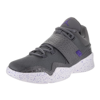 Nike Jordan Men's Jordan J23 Dark Grey Fabric Baskeball Shoes