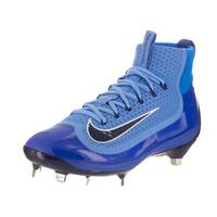 Nike Men's Air Huarache 2KFilth Elite University Blue Synthetic Leather Mid Baseball Cleats