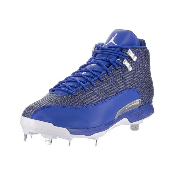 fc58498e0eb Shop Nike Jordan Men s Jordan XII Retro Metal Baseball Cleats - Free ...