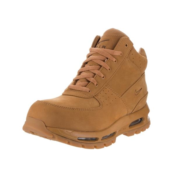 quality design cf30b df191 Nike Men  x27 s Air Max Goadome QS Brown Leather Boot